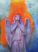 Wings Artwork Mixed Media Prints - The Calling Print by Venus