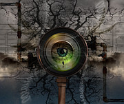 Business Man Prints - The Camera Eye Print by Keith Kapple