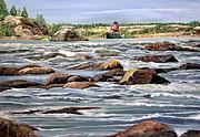Marilyn  McNish - The Canoeist