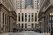 Chicago Board Of Trade Prints - The Canyon Print by Daniel Biederman