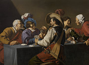 Theodoor Rombouts - The Card Players