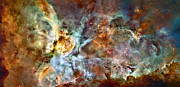 Heavenly Body Prints - The Carina Nebula Print by Ricky Barnard