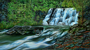 Tennessee Prints Paintings - The Cascades by Michelle Parsley