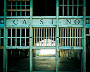Photography By Colleen Kammerer Posters - The Casino Poster by Colleen Kammerer