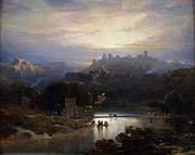 Famous Artists - The Castle of Alcala de Guadaira by David Roberts