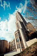 Cathedral Of Learning Prints - The Cathedral of Learning 3 Print by Jimmy Taaffe