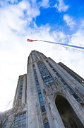Cathedral Of Learning Prints - The Cathedral of Learning 4 Print by Jimmy Taaffe