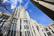 Cathedral Of Learning Prints - The Cathedral of Learning 5 Print by Jimmy Taaffe