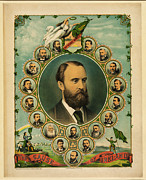 Irish Republican Army Framed Prints - The Cause of Ireland 1881 Framed Print by Digital Reproductions