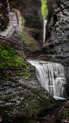 Watkins Glen State Park Prints - The Cavern Print by Bill  Wakeley