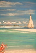 Water Pastels - The Cays by The Beach  Dreamer