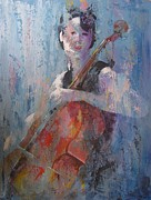Cello Art - The Cello by John Henne