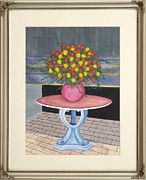 Original  By Artist Paintings - The Centerpiece by Ron Davidson