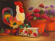 Jeanene Stein - The Ceramic Rooster