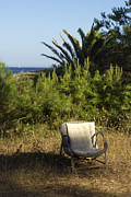 South Of France Framed Prints - The Chair Framed Print by Sophie De Roumanie