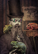 The Chameleon Collector Print by Eric Fan