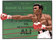 Boxer Drawings Framed Prints - The Champ Framed Print by Anne Gifford