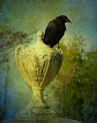 Crow Image Prints - The Champion Print by Gothicolors And Crows