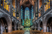 Religious Digital Art Prints - The Chapel Print by Adrian Evans