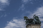 Budapest Attractions Photos - The Chariot by Sabina Cosic