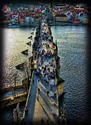 Charles Bridge Photo Acrylic Prints - The Charles Bridge Acrylic Print by Lee Dos Santos