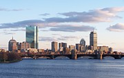 Boston Ma Prints - The Charles River Print by Pamela Walters