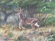 Rack Paintings - The Chase Is On by Lori Brackett