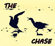 The Chase Print by Pamela Hyde Wilson