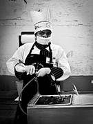 Streetphotography Prints - The Chef Print by Oliver Stahmann