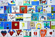 Oklahoma City Bombing Posters - The Childrens Area II Poster by Diana Powell