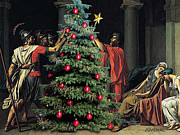 Jacques Digital Art - The Christmas Tree of the The Horatii by Joseph Juvenal