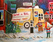 Michael Litvack - The Christmas Tree Vendor
