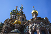 Russian Cross Photos - The Church Of The Resurrection Of Christ by Madeline Ellis
