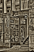 Storefront  Art - The Cigar Store - Pioneer Square by David Patterson