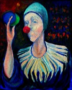 Circus. Paintings - The Circus Performer by Luff  Gallery