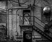Fire Escape Metal Prints - The City Is A Poem  Metal Print by Bob Orsillo