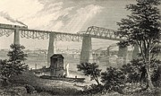 Appleton Digital Art Prints - The City of Louisville Print by Antique Engravings
