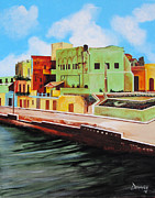Matanzas Framed Prints - The City of Matanzas in Cuba Framed Print by Dominica Alcantara