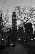 Philadelphia City Hall Framed Prints - The City of Philadelphia 001 Framed Print by Dorin Adrian Berbier