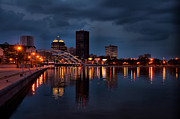 Rochester Skyline Prints - The City of Rochester Print by Jeffrey Palm