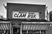 Local Restaurants Posters - The Clam Box Poster by Joann Vitali