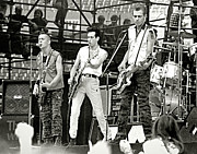 The Clash Prints - The Clash_1982 Print by Chuck Spang