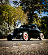 Custom Ford Metal Prints - The Classic Hot Rod Metal Print by motography aka Phil Clark