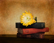 Antique Books Prints - The Classics Print by Jai Johnson