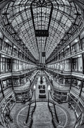 Register Framed Prints - The Cleveland Arcade VIII Framed Print by Clarence Holmes