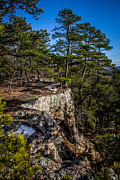 National Recreation Areas Prints - The Cliff Side Print by Jim McCain