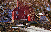The Clinton Nj Mill Print by Skip Willits