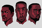 Kanye West Digital Art - The Clique by Kevin Kayitare