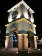 Guy Ricketts Photography Photos - The Clock Tower by Guy Ricketts
