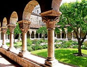 Sarah Loft Metal Prints - The Cloisters Metal Print by Sarah Loft